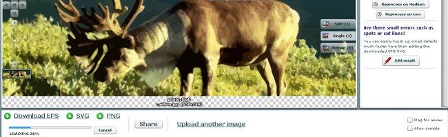 caribouvecto Transformez vos caribous en SVG !