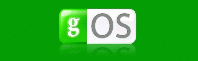 gosbandeau gOs (Green OS) Live CD dispo en download sur Bittorrent