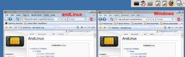 andlinux Faites fonctionner Linux sous Windows (oui, SOUS Windows !)