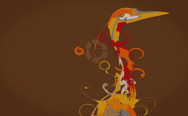 captureheron Voici enfin le nouveau fond décran officiel Ubuntu