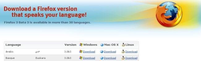 fff3b3 Téléchargez Firefox 3 Beta 3 pour Linux, Windows et Mac