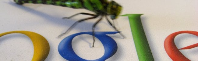 google bug landing Un calendrier Lego par Google