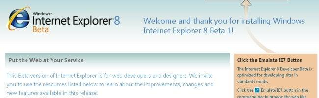 ie8 Télécharger Internet Explorer 8 Beta 1
