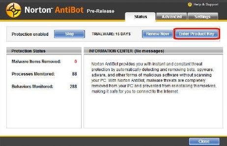 norton2 Gratuit : Des licences d1 an pour Norton <strike>Antivirus</strike> AntiBot