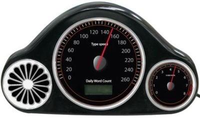 usb typing wpm speedometer Compteur de vitesse pour les geeks accros au clavier
