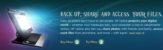 upline HP se lance dans le stockage en ligne illimité et à petit prix