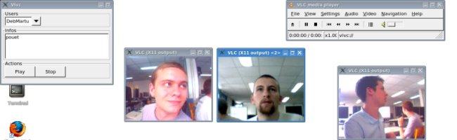 vvlc De la visio conférence avec VLC