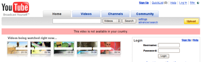youtube Stop à la censure de Youtube