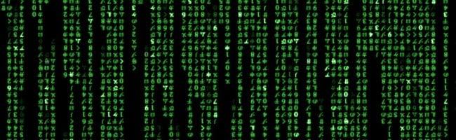 matrixcode Dis papa, comment on dit Hello World en...