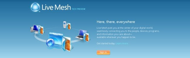 mesh Mais cest quoi Microsoft Live Mesh ?