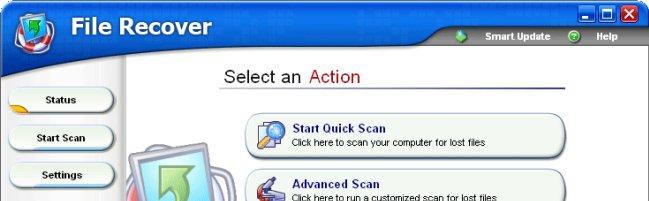 screenshot en Télécharger gratuitement PC Tools File Recovery