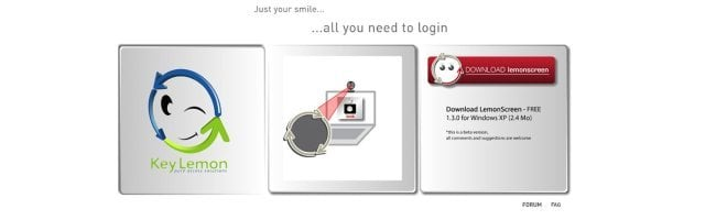 cap1 Reconnaissance faciale gratuite pour votre PC