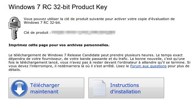 capture 37 Télécharger Windows 7 RC 1 en français [Officielle]