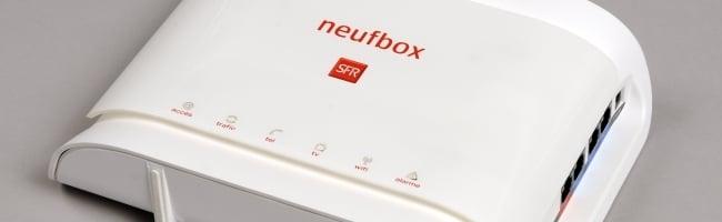 fbox SFR / Neuf bride t il sa connexion ADSL sur le site megaupload ?