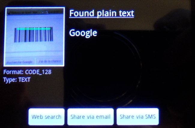 google code barre La véritable signification du logo Google