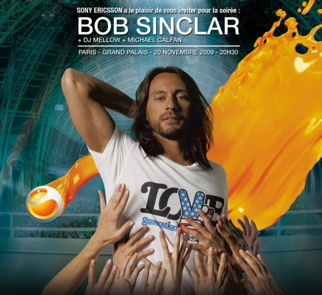 bob 2 places à gagner pour le concert de Bob Sinclar de vendredi soir