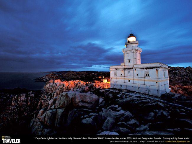 sardinia lighthouse 1024 Les fonds décran du National Geographic