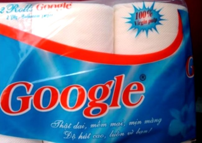Papier Toilette Google Innovation : Google Toilet