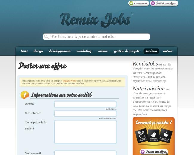 remixjobs  u2013 les offres d u2019emploi du web  u2013 korben