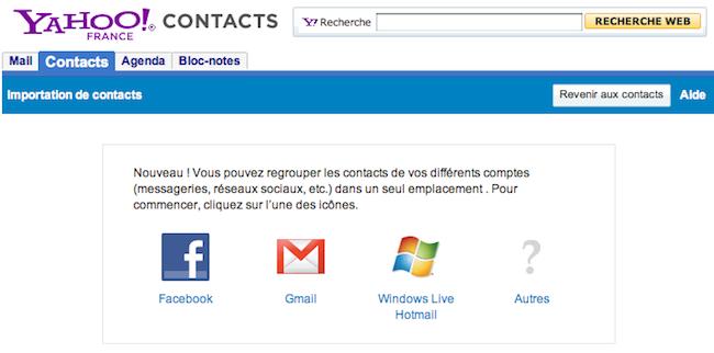 Comment exporter les emails de vos amis facebook korben - Comment rester connecter sur facebook ...