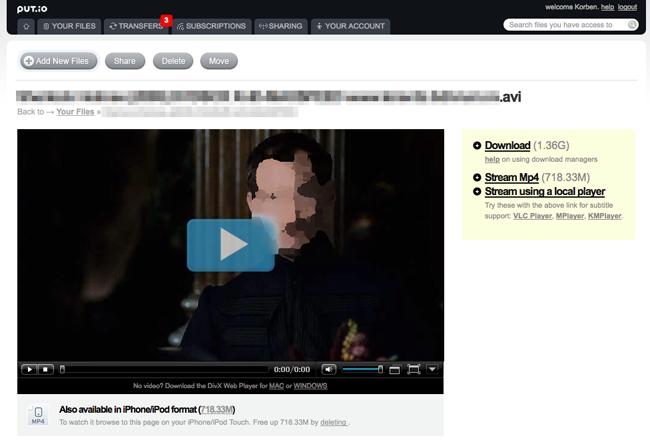 Capture d'écran 2010 04 15 à 15.05.15 Put.io   Le stockage de fichiers en ligne revu et corrigé