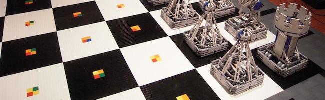 Monster Chess – Un jeu d'échec motorisé et en LEGO