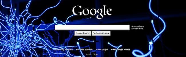 Changer l'image de fond sur Google