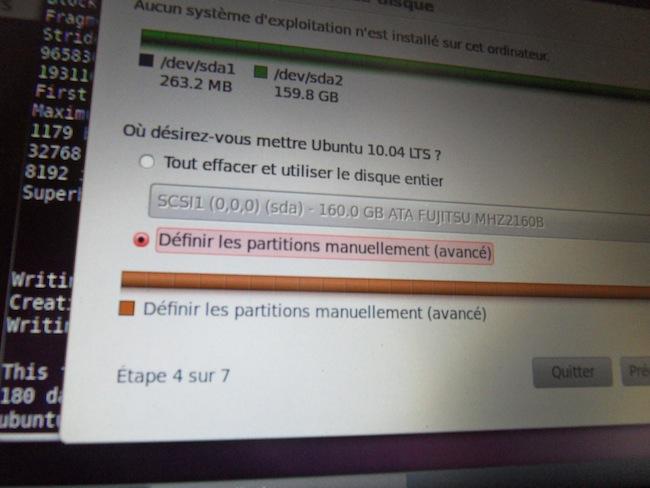 Comment chiffrer une partition système Linux (ici Ubuntu