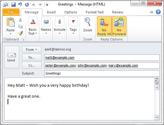 email reply all Un plugin Outlook pour éviter de faire les conneries habituelles