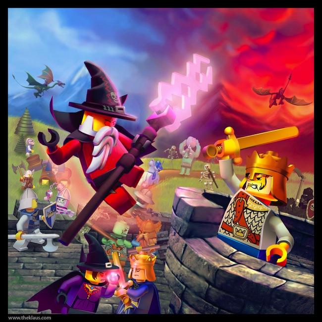 Lego  Castle by Emosktr Des fonds décran LEGO pour rester dans le coup
