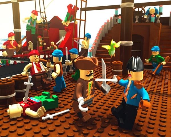 image79 Des fonds décran LEGO pour rester dans le coup