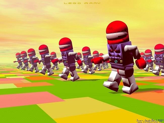 lego04 Des fonds décran LEGO pour rester dans le coup