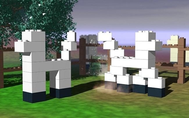 lego11 Des fonds décran LEGO pour rester dans le coup