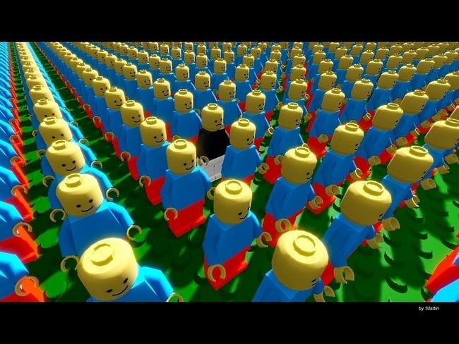 lego12 Des fonds décran LEGO pour rester dans le coup