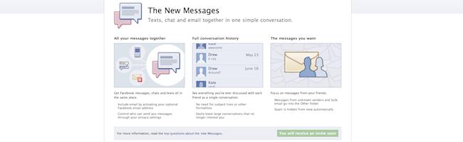 Avoir un mail @facebook.com