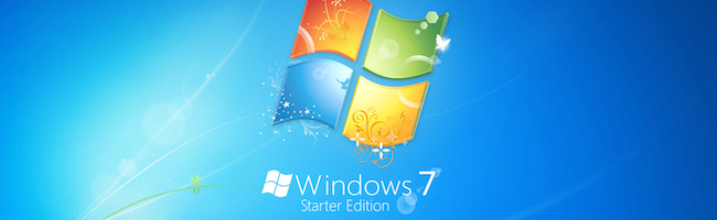 Changer le fond d'écran de Windows 7 Starter