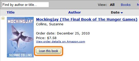 amazon kindle loan this book