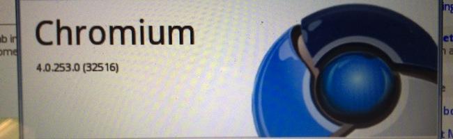 Chromium – Mise à jour automatique