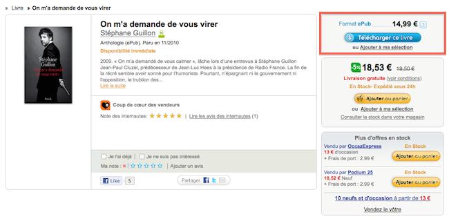 cap 2011 01 23 à 18.39.30 Fnuck la Fnac et ses ebooks aux DRM !