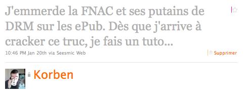 cap 2011 01 23 à 19.31.42 Fnuck la Fnac et ses ebooks aux DRM !