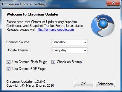 screen2 Chromium   Mise à jour automatique
