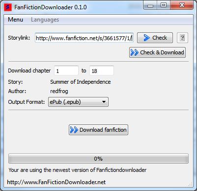 Screenshot GUI