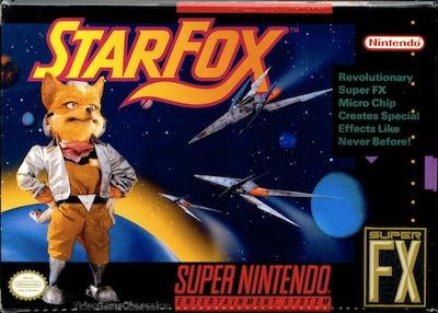 starfox Starfox 2 sur une véritable cartouche de SNES