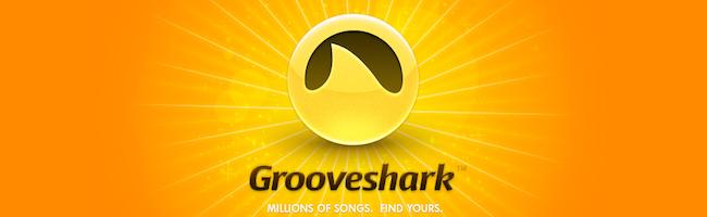 Grooveshark sur vos appareils mobiles