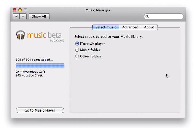 cap 2011 05 10 à 19.13.27 Premières images de Google Music Beta