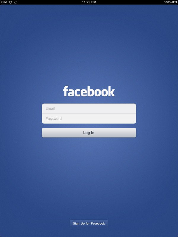 comment installer facebook sur ipad