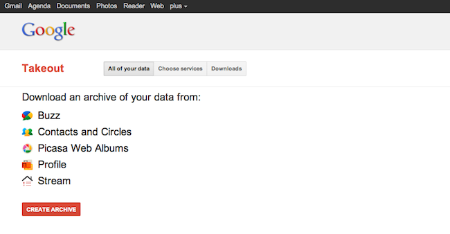 cap 2011 07 04 à 11.09.23 Exportez vos données Google