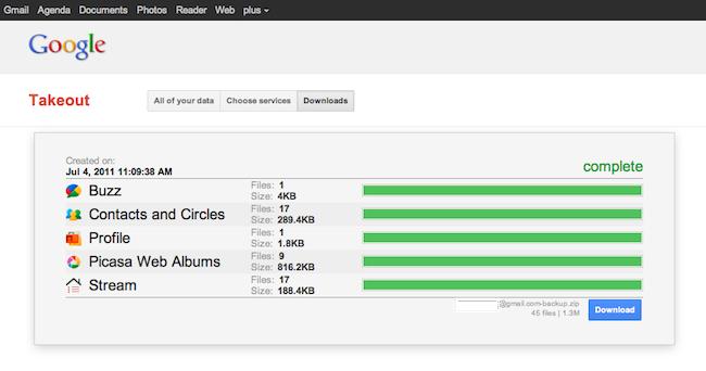 cap 2011 07 04 à 11.09.45 Exportez vos données Google