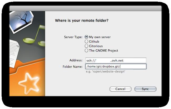 cap 2011 07 04 à 22.45.42 SparkleShare   Un clone de Dropbox open source qui fonctionne !