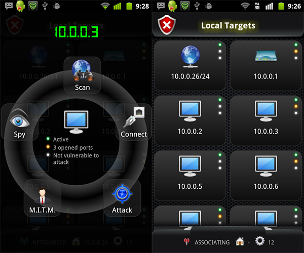 anti android network toolkit by zimperium15 Transformez votre téléphone Android en hacking machine